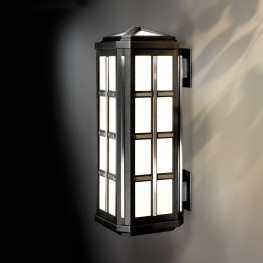 Riverside Square Bracket Mount Exterior Sconce