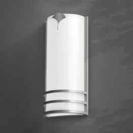 Column Sconce Leaf Exterior