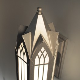 New England Gothic Exterior Sconce