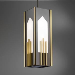 Traditional pendant light fixture